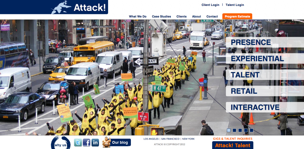 Attack! Home Page