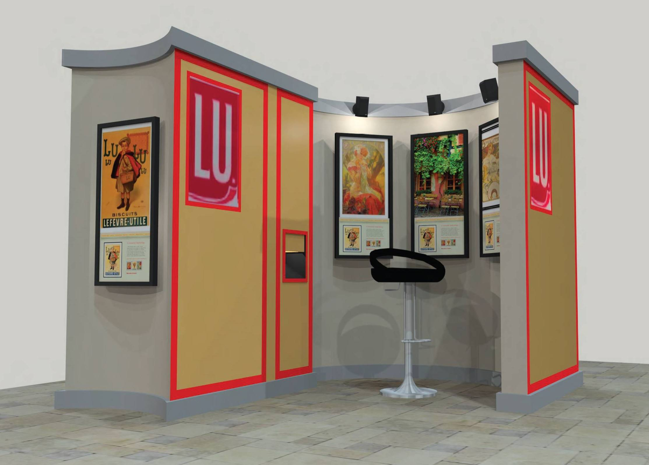 LU Booth