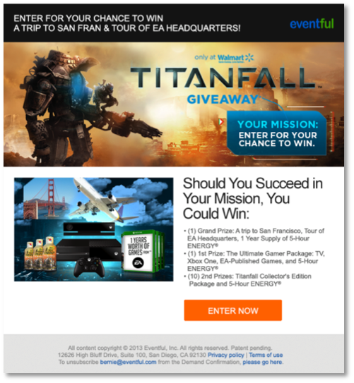 Titanfall Email