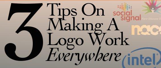 3 Tips On Making A Logo Work Everywhere
