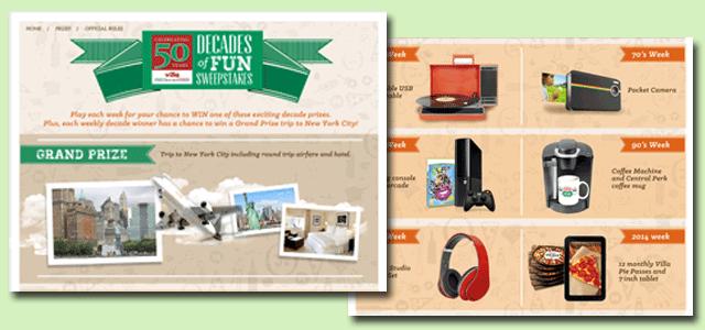 Villa Fresh Italian Kitchen Promotion Screens