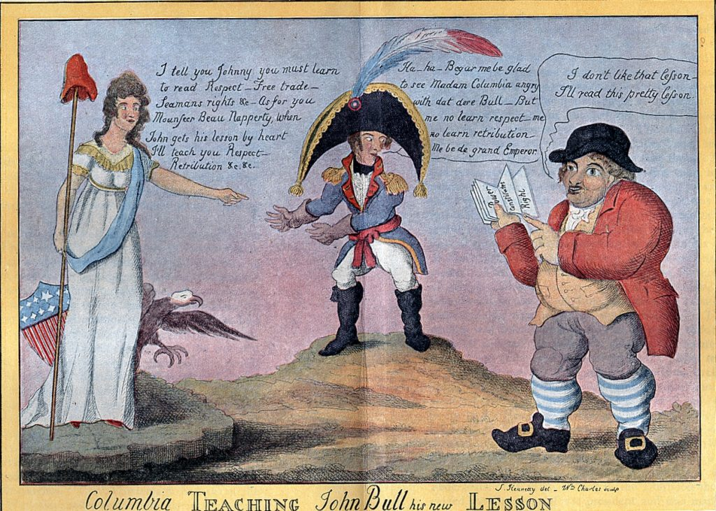 Napoleon 1812 Cartoon