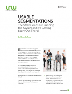 POV PAPER Usable Segmentations