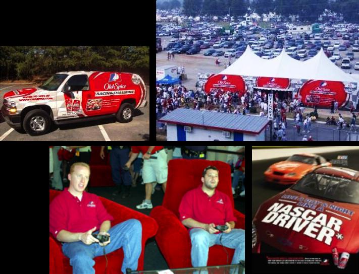OLD SPICE NASCAR