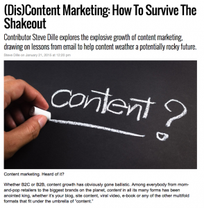 Message Systems MarketingLand column – (Dis)content
