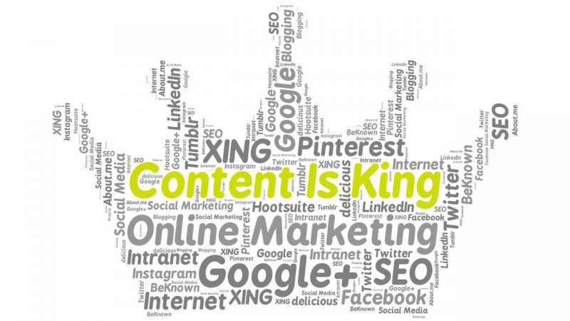 Content is Becoming King!