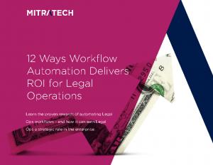 12 Ways WFA Delivers ROI eBook – Mitratech Version